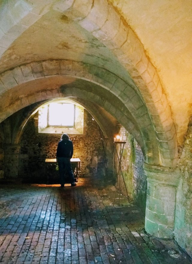 cellarium of Mottisfont Abbey